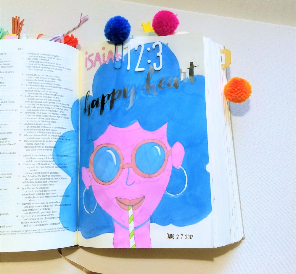 Bible Journaling Illustrated Faith
