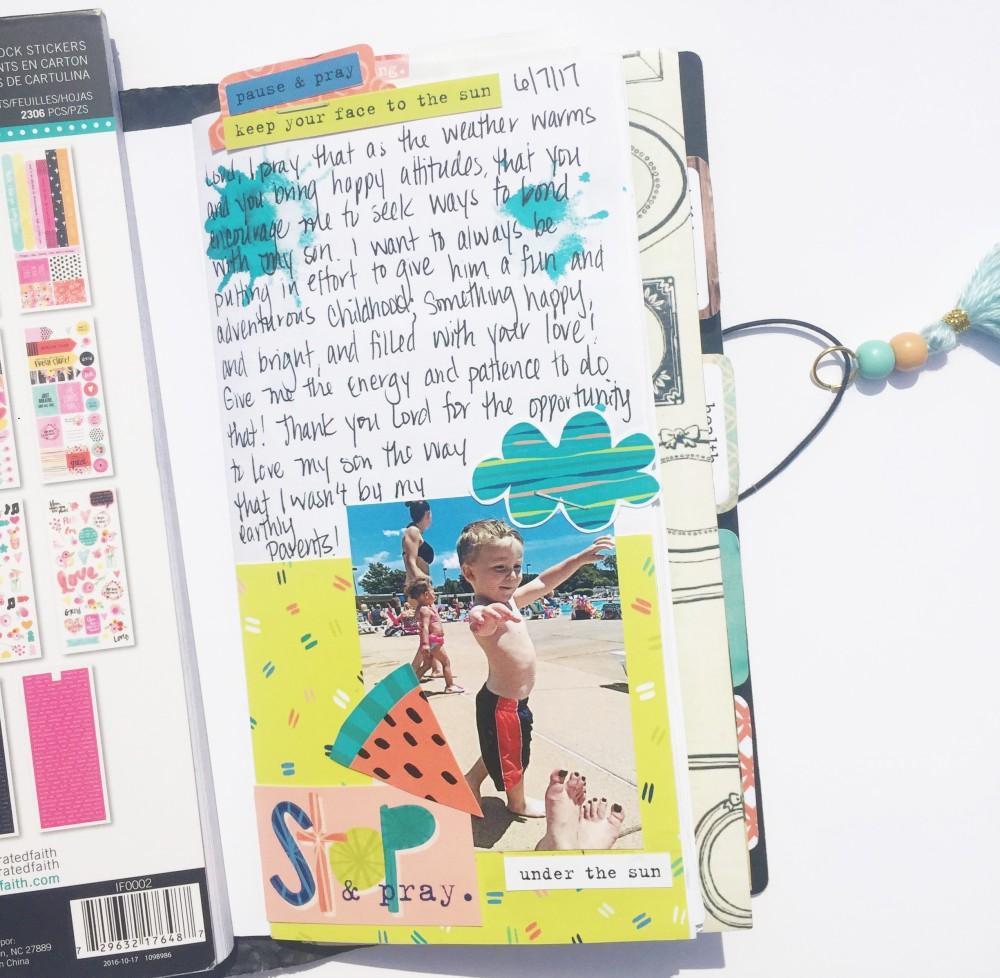 Motherhood Taveler's Notebook