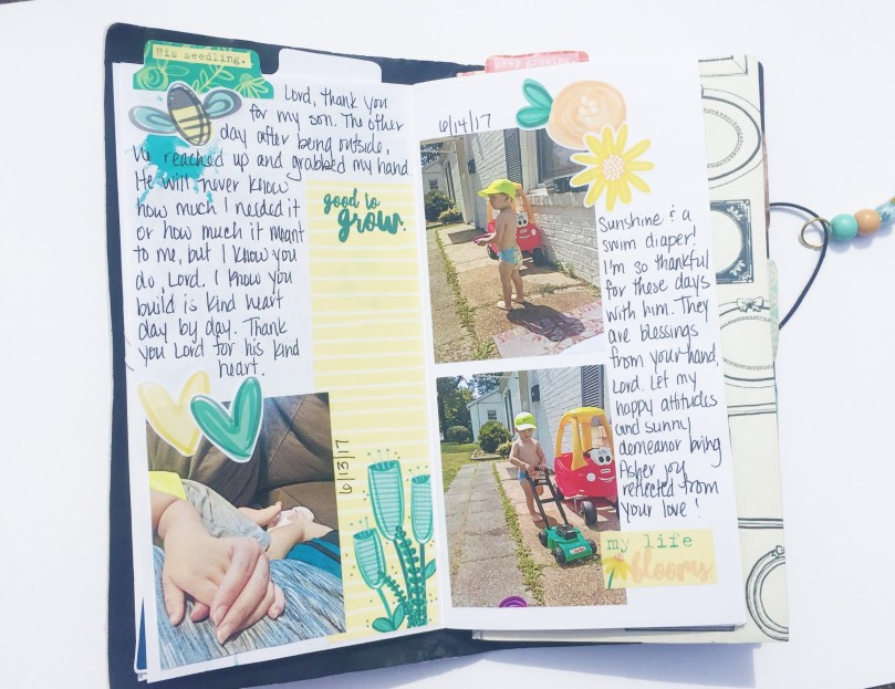 Motherhood Travelers Notebook