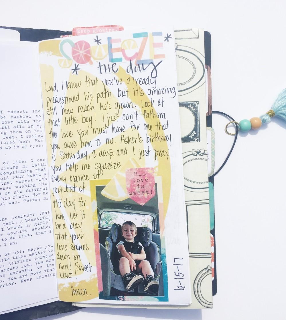 Motherhood Prayers Travelers Notebook