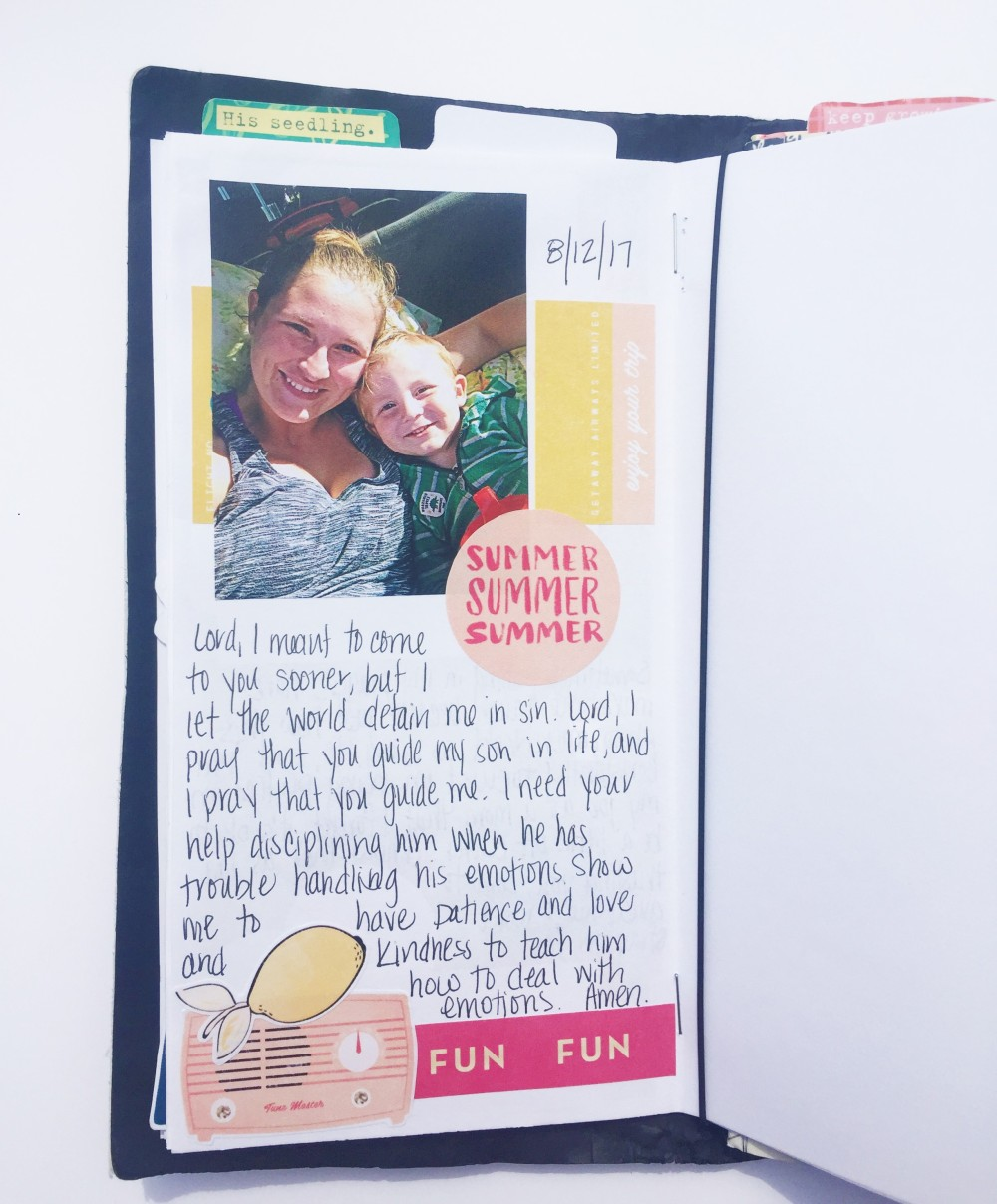Motherhood Bible Journaling