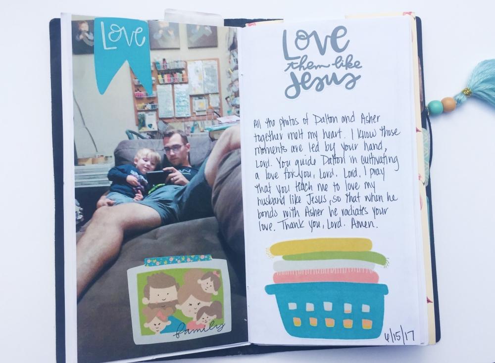 Motherhood Family Travelers Notebook