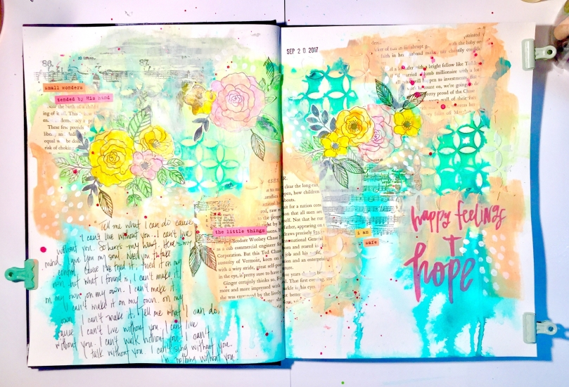 Art Journal Faith Happy Feelings Hope
