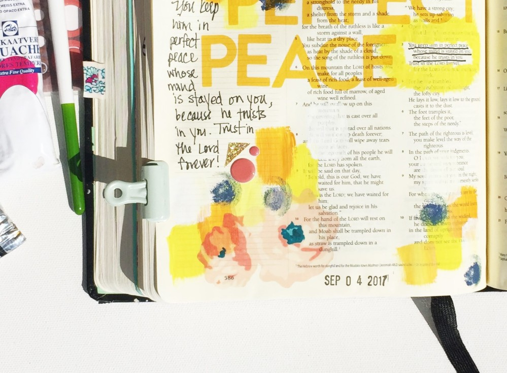 Bible Journaling Illustrated Faith