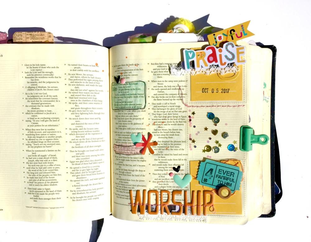 Joyful Praise Bible Journaling Illustrated Faith