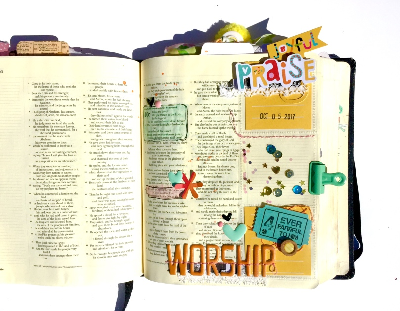 Joyful Praise Bible Journaling Illustrated Faith