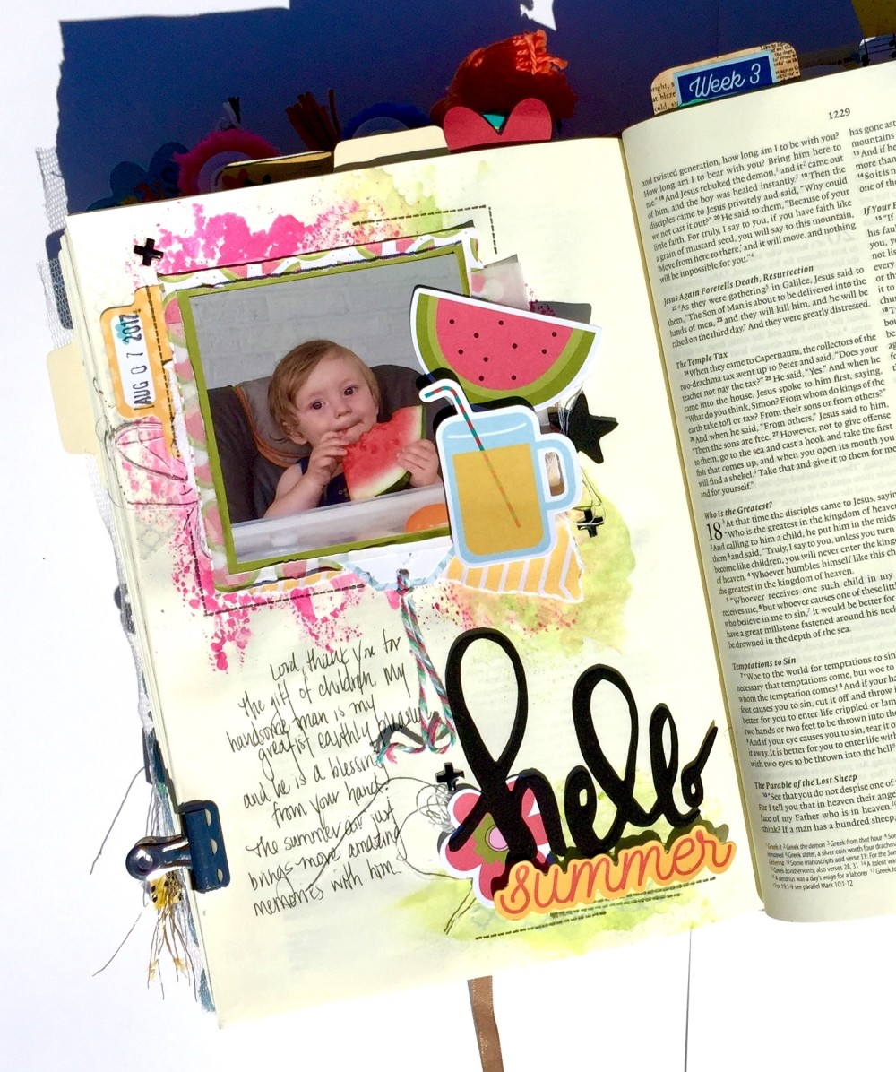 Children bible journaling illustrated faith