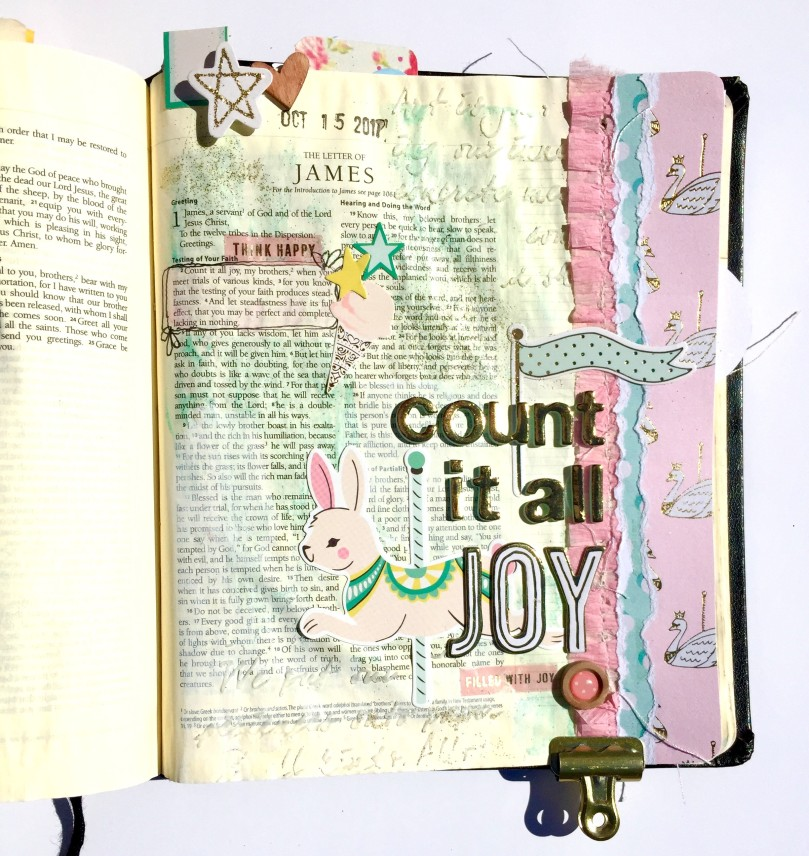 Joy Bible Journaling Maggie Holmes Illustrated Faith