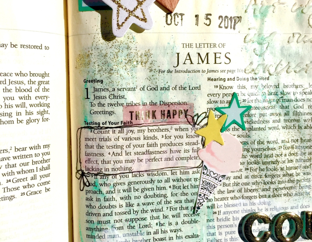 James: Joy Bible Journaling Illustrated Faith Maggie Holmes