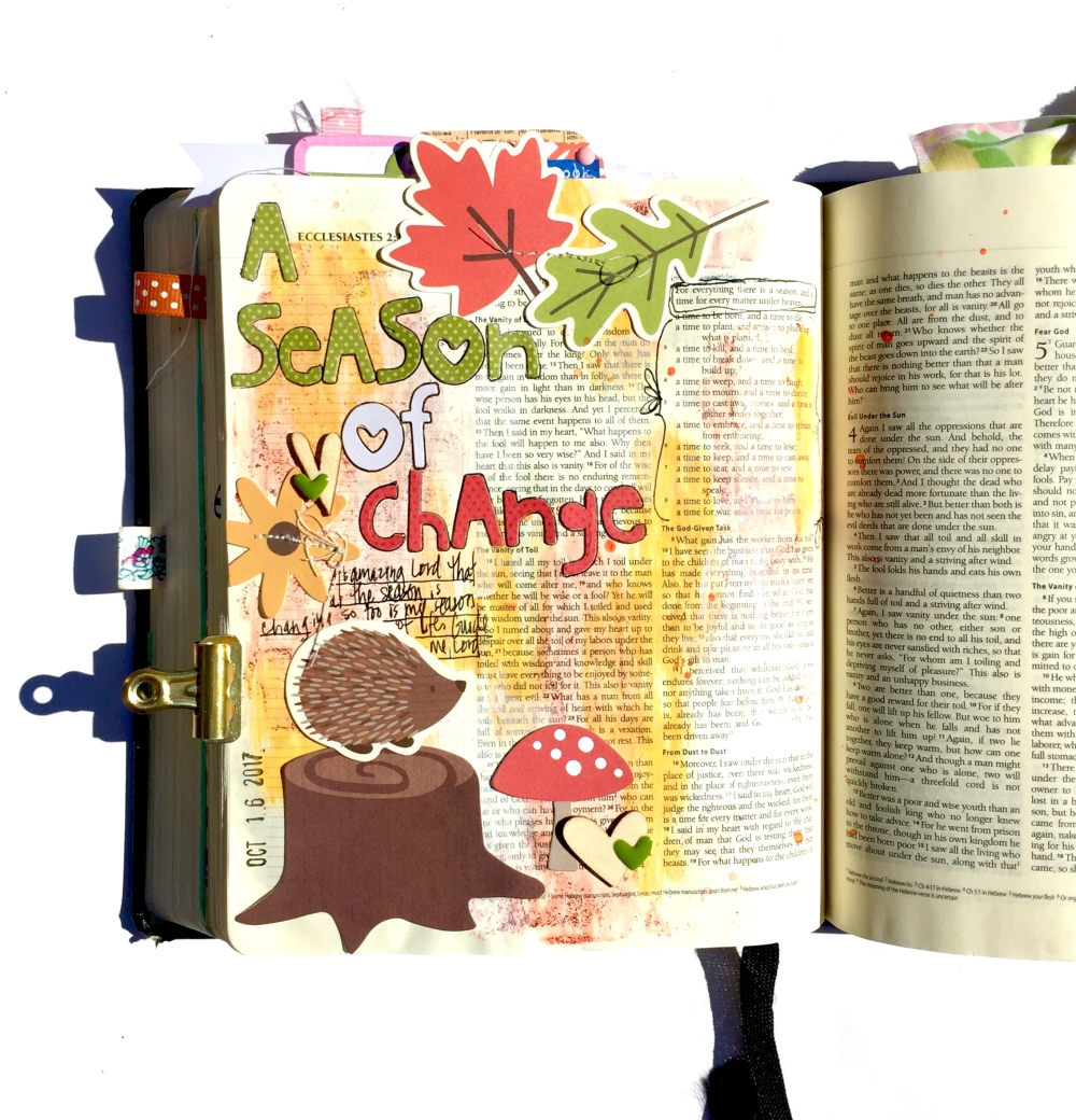 Change Bible Journaling Illustrated Faith