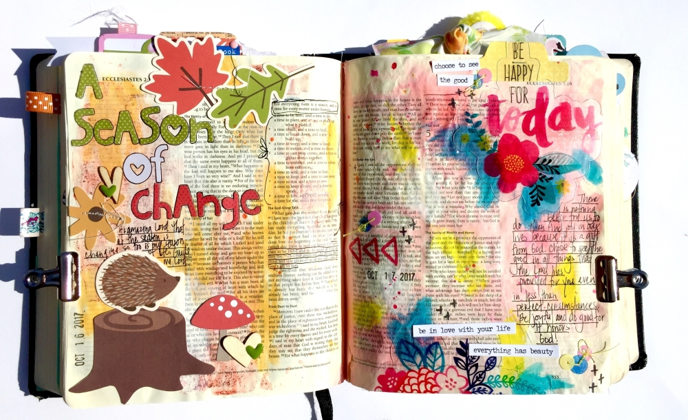 Be Joyful Bible Journaling Illustrated Faith