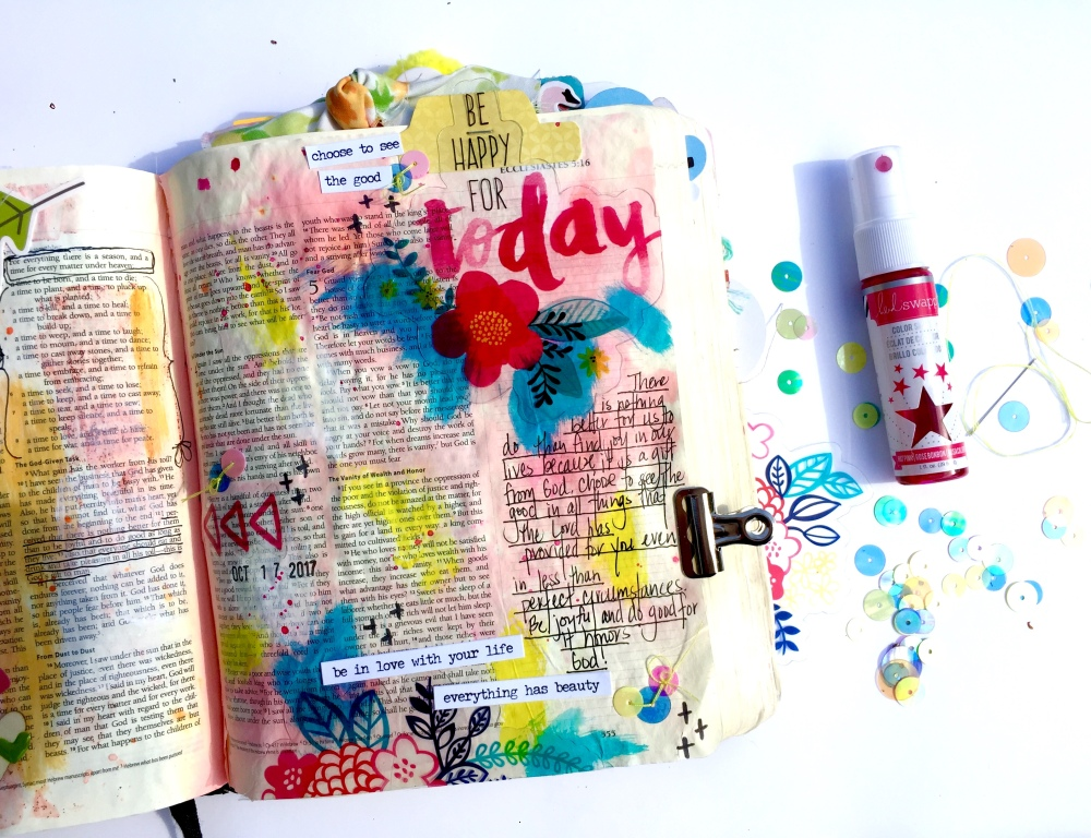 Joyful Bible Journaling Illustrated Faith