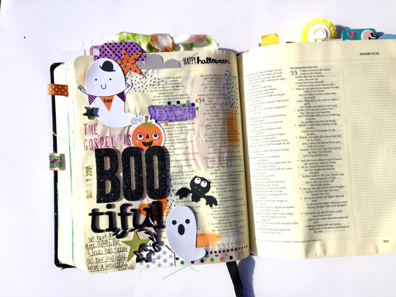 Boo-tiful Gospel Bible Journaling