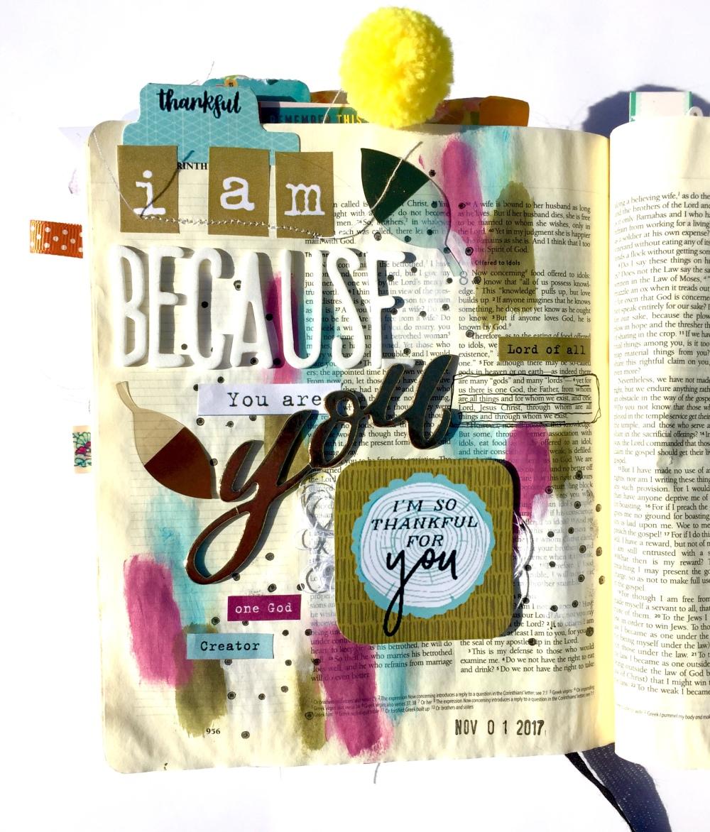 Thankful Bible Journaling