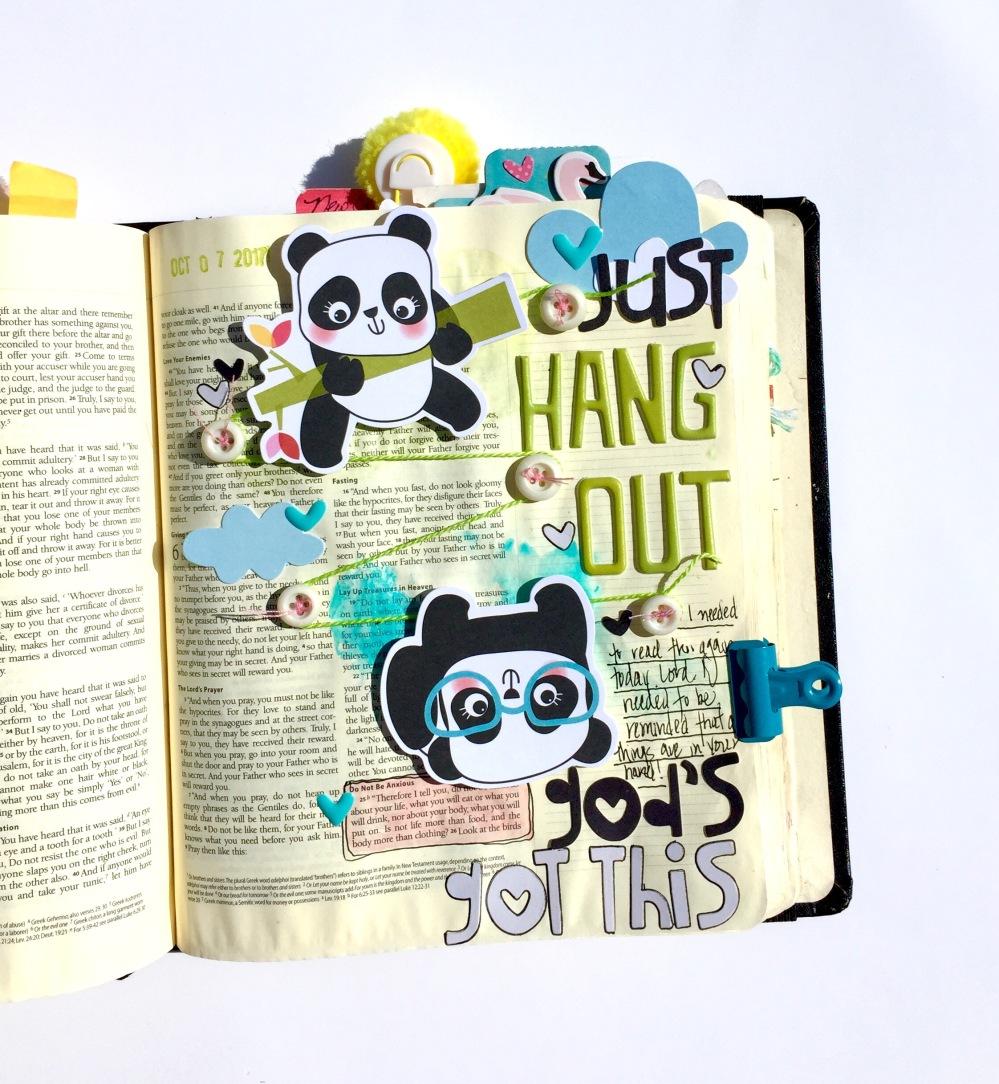 Anxiety Panda Bible Journaling