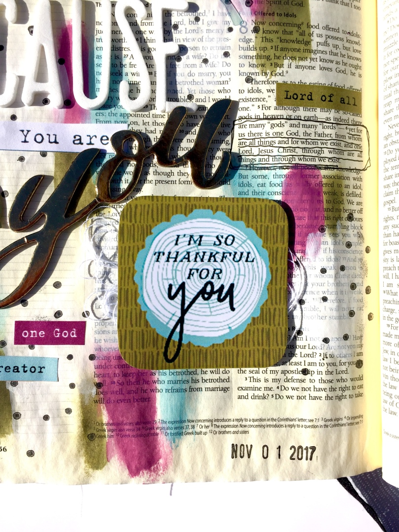 Thankful Bible Journaling
