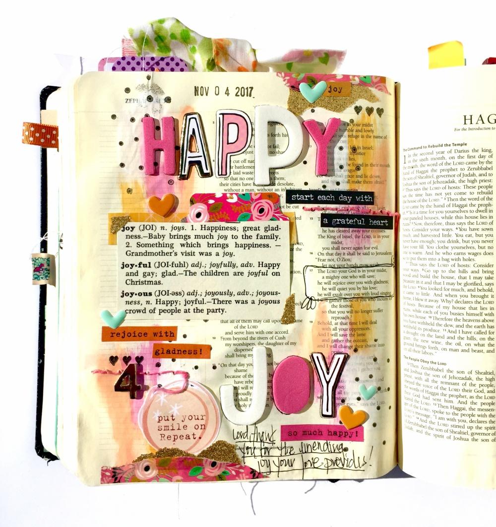 Joy Bible Journaling Illustrated Faith