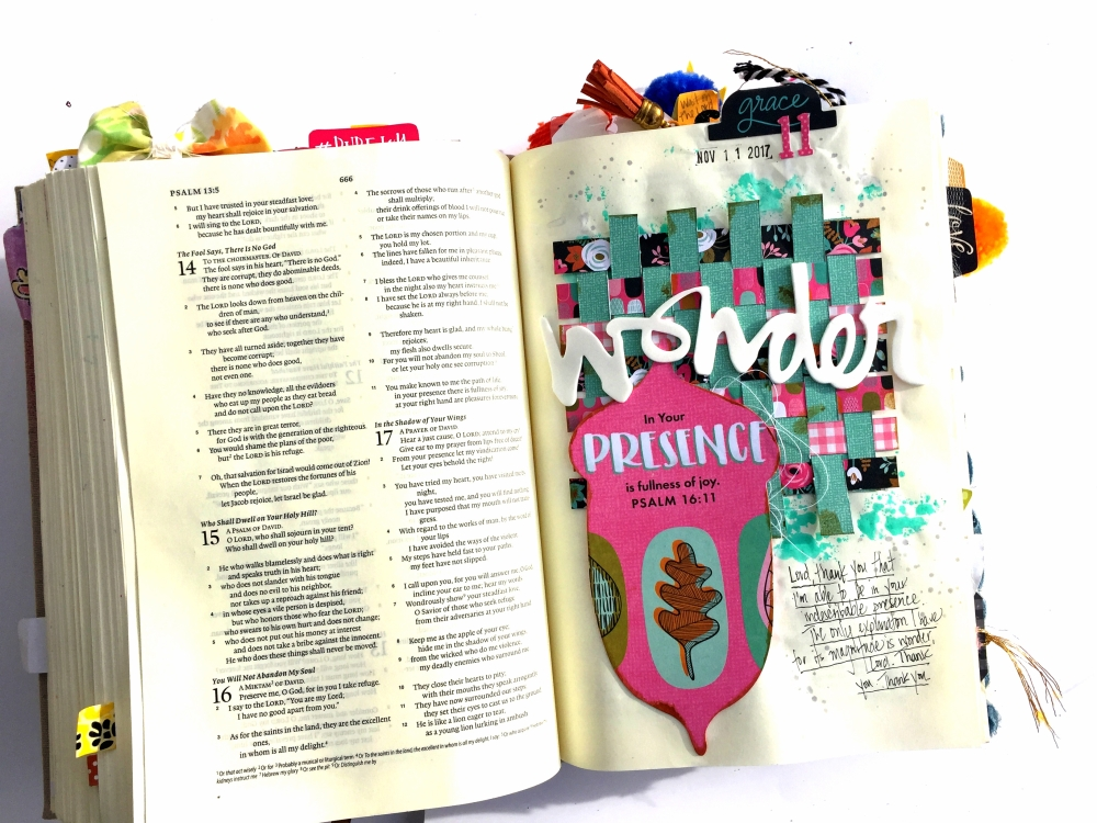 Your Presence Bible Journaling Illustrated Faith