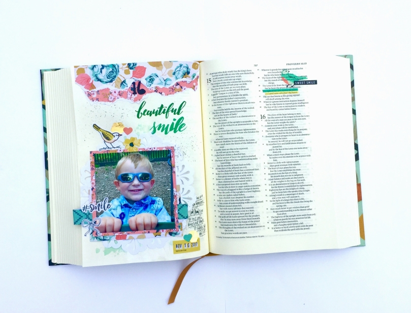 Smiles Bible Journaling Illustrated Faith