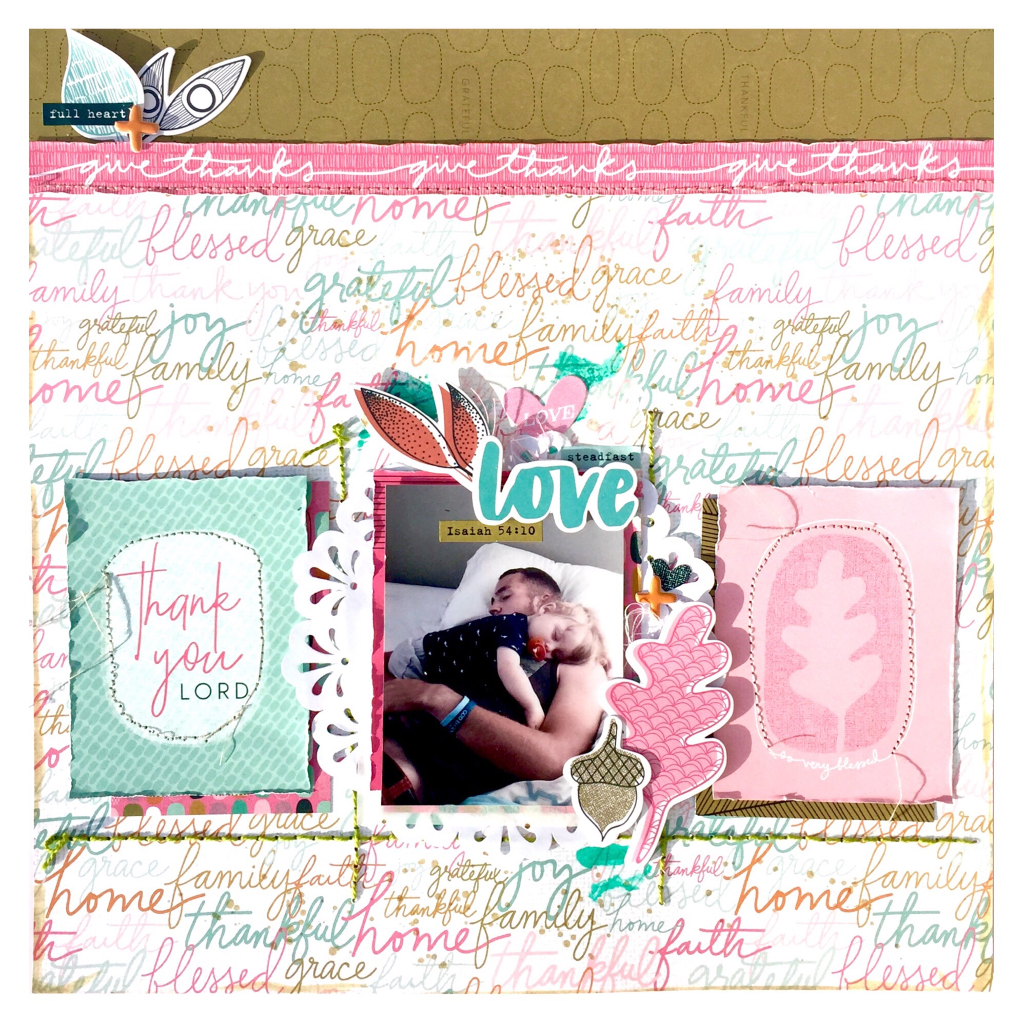 Thankful for Love Bella Blvd Layout