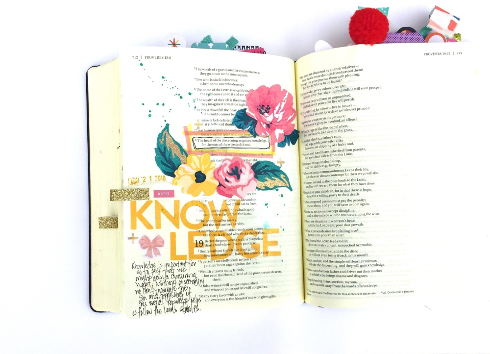 Knowledge Bible Journaling