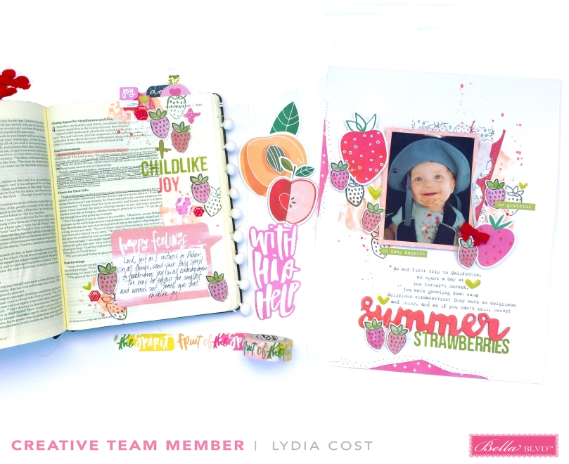 Illustrated Faith Matching Projects using Fruit of the Spirit Collection