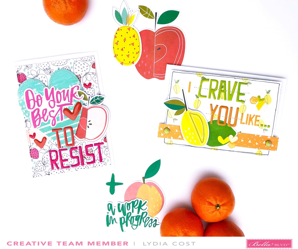 Illustrated Faith Fruit of the Spirit Valentine's Cards