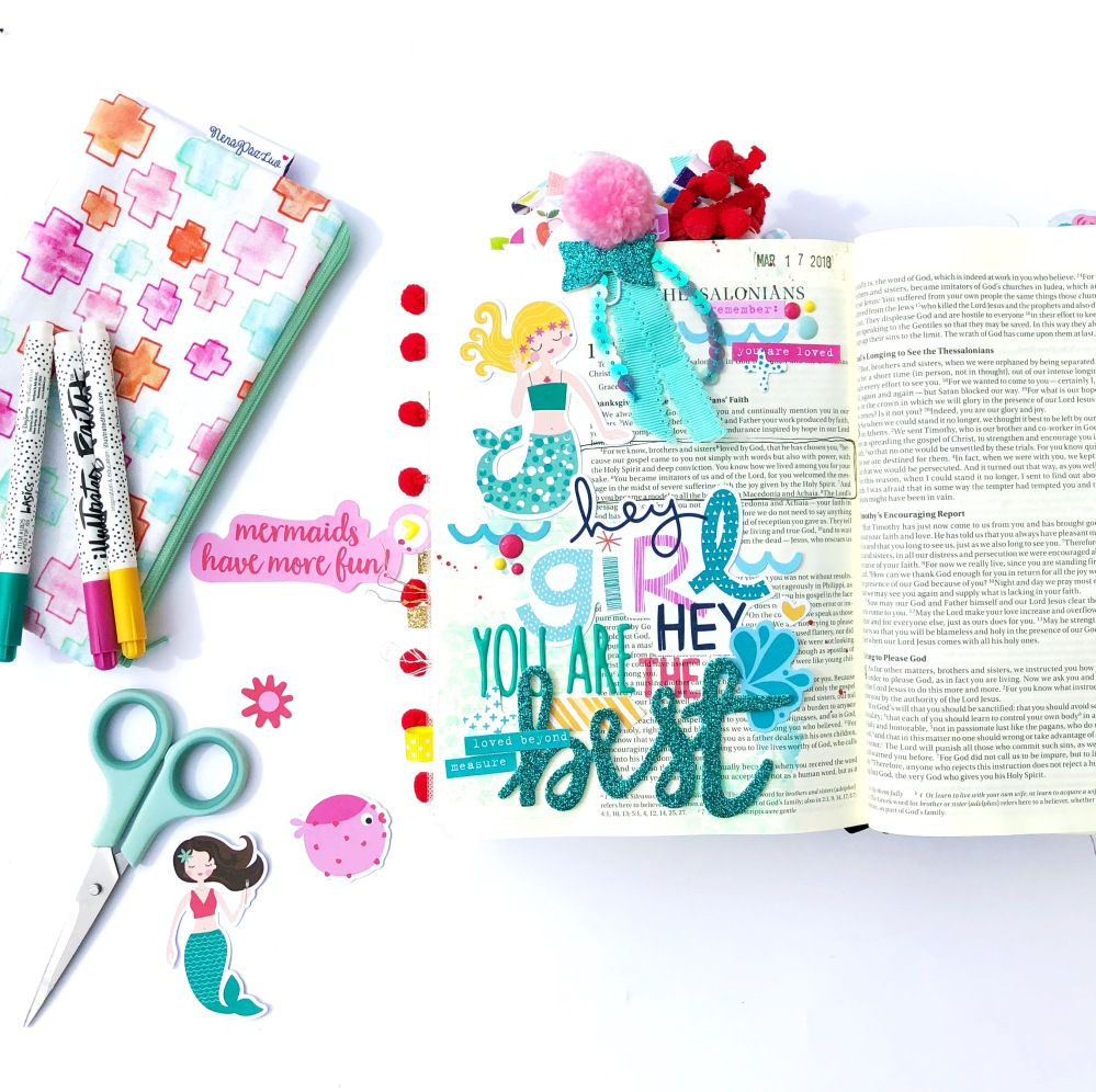 You Are the Best Bible Journaling Page - Lydia Cost