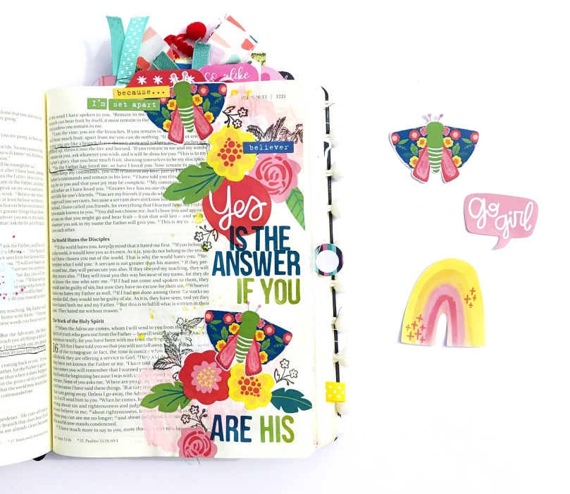 Yes is the Answer Bible Journaling Page