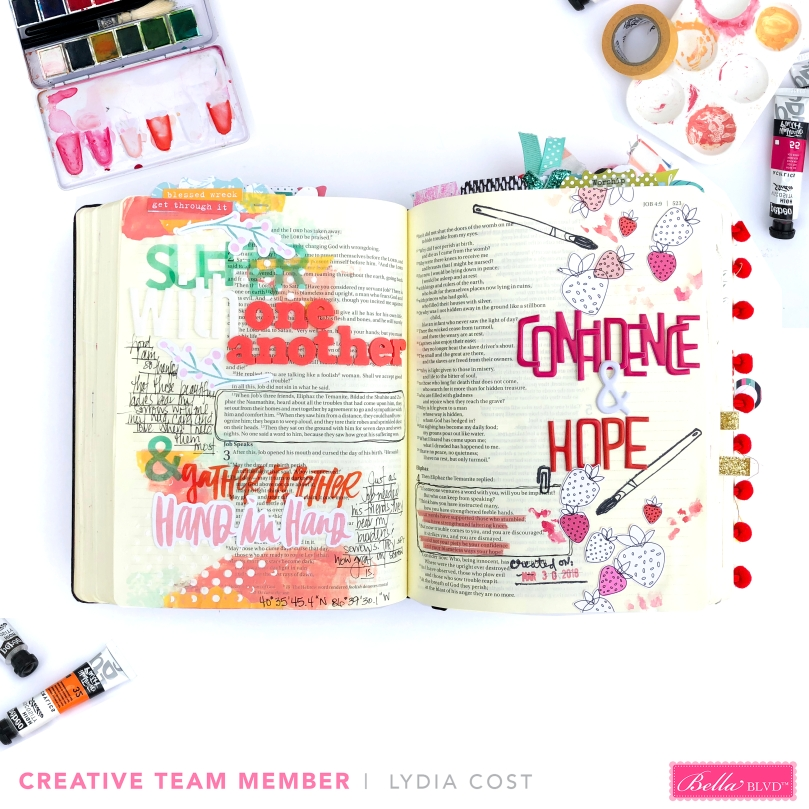 Illustrated Faith Paints Bible Journaling Pages