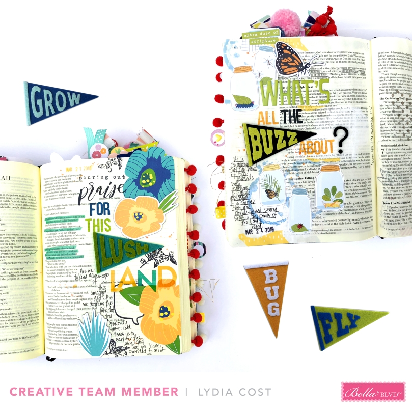 Bella Bvld Pennants Bible Journaling Pages