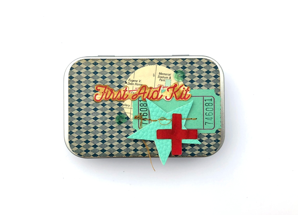 Vintage First Aid Tin for Prayers