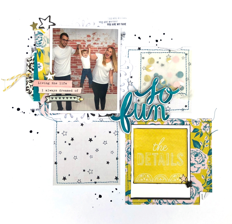 So Fun 12x12 Layout using Maggie Holmes Carousel Collection - Lydia Cost