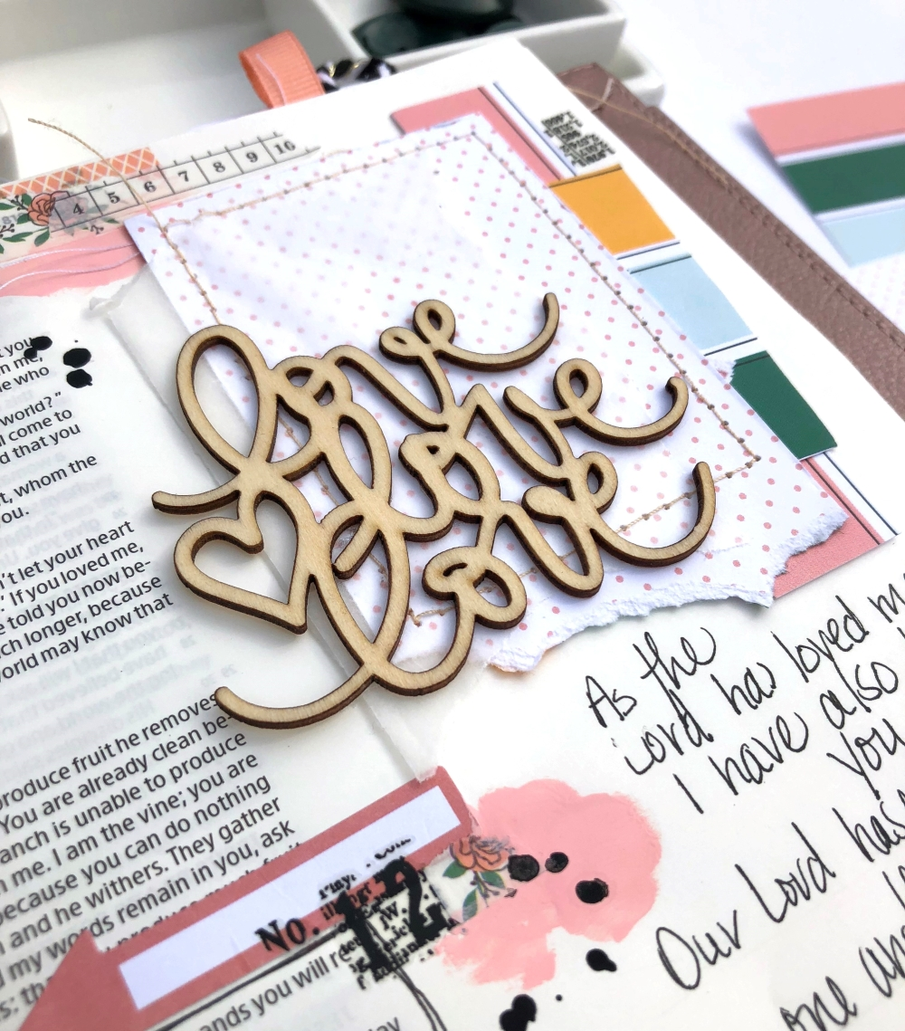 Freckled Fawn November 2018 Bundle - Bible Journaling Page by Lydia Cost