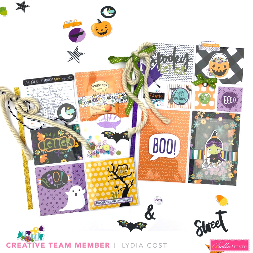 Bella Blvd Sweet and Spooky Pocket Letters - Lydia Cost