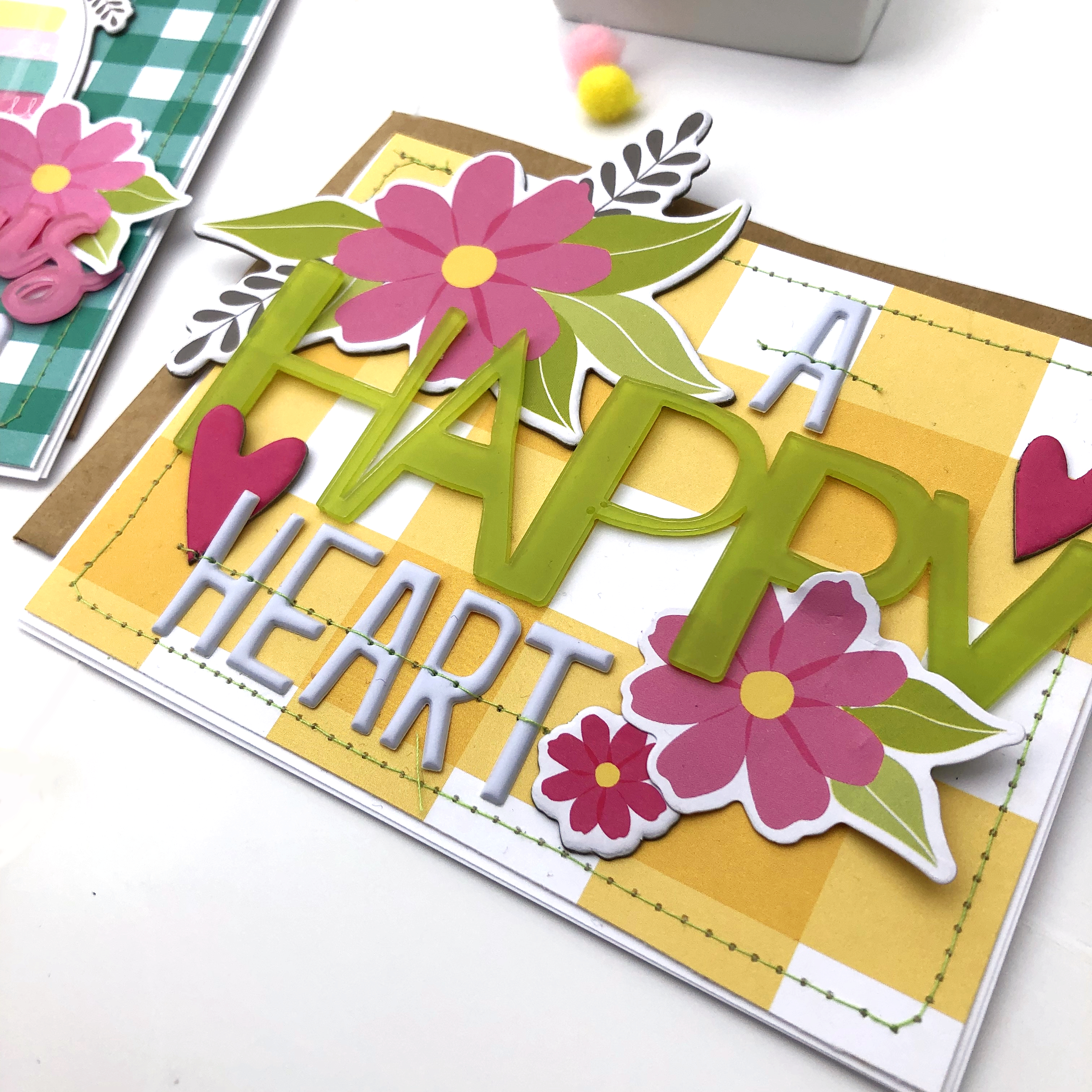 Bella Blvd Random Act of Kindess Cards using Wish Big Girl and Acrylic Words - Lydia Cost