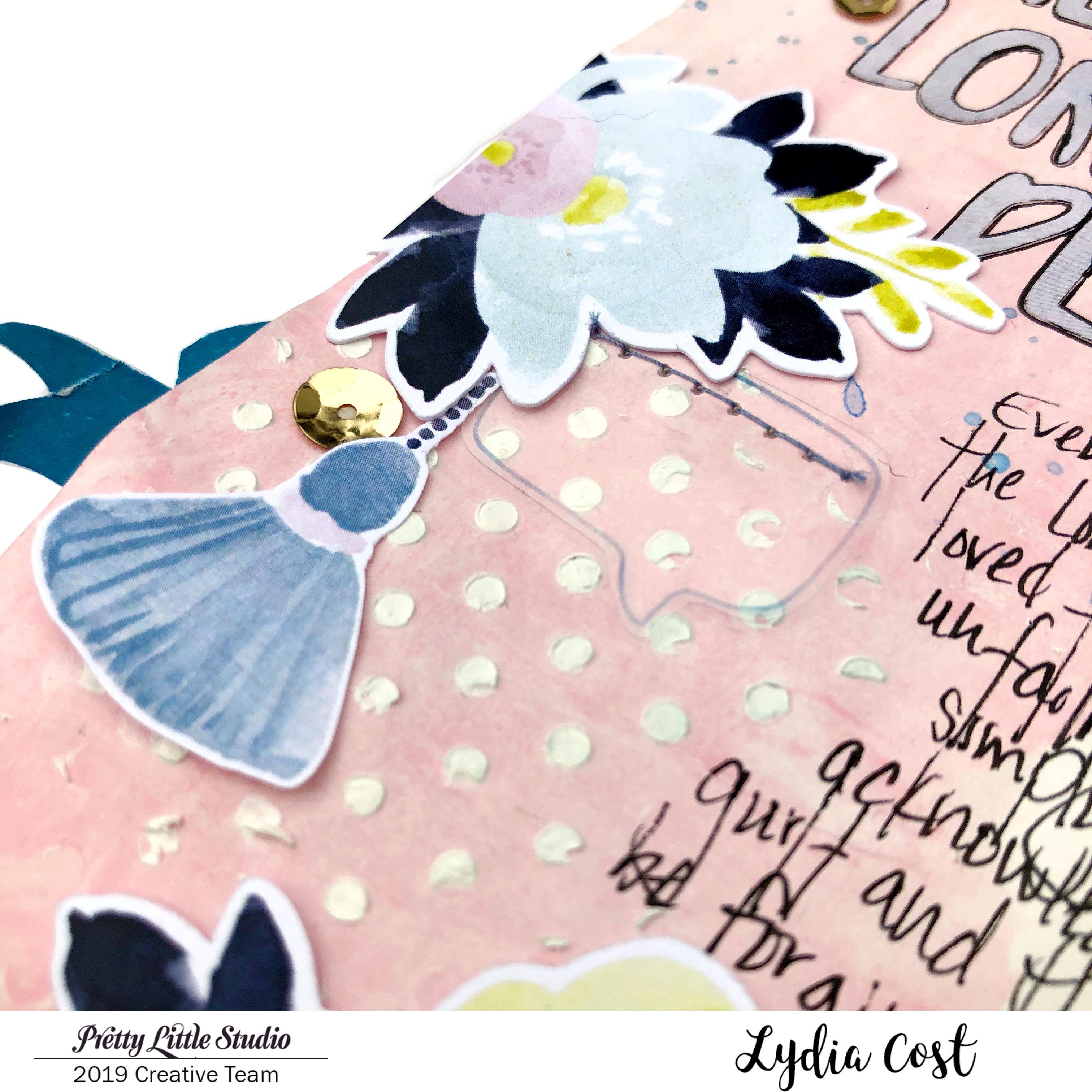 Pretty Little Studio Shine Bright Bible Journaling Page - Lydia Cost