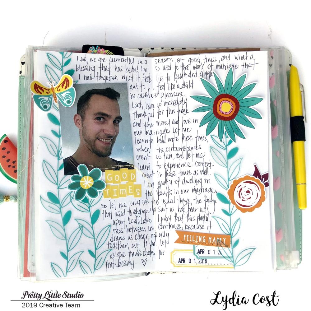 Traveler's Notebook for Prayers using Pretty Little Studio Bohemian Dreams - Lydia Cost