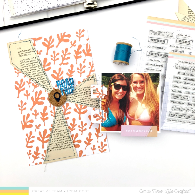3 to Inspire Challenge for National Scrapbook Day 2019 with Citrus Twist Kits - Lydia Cost