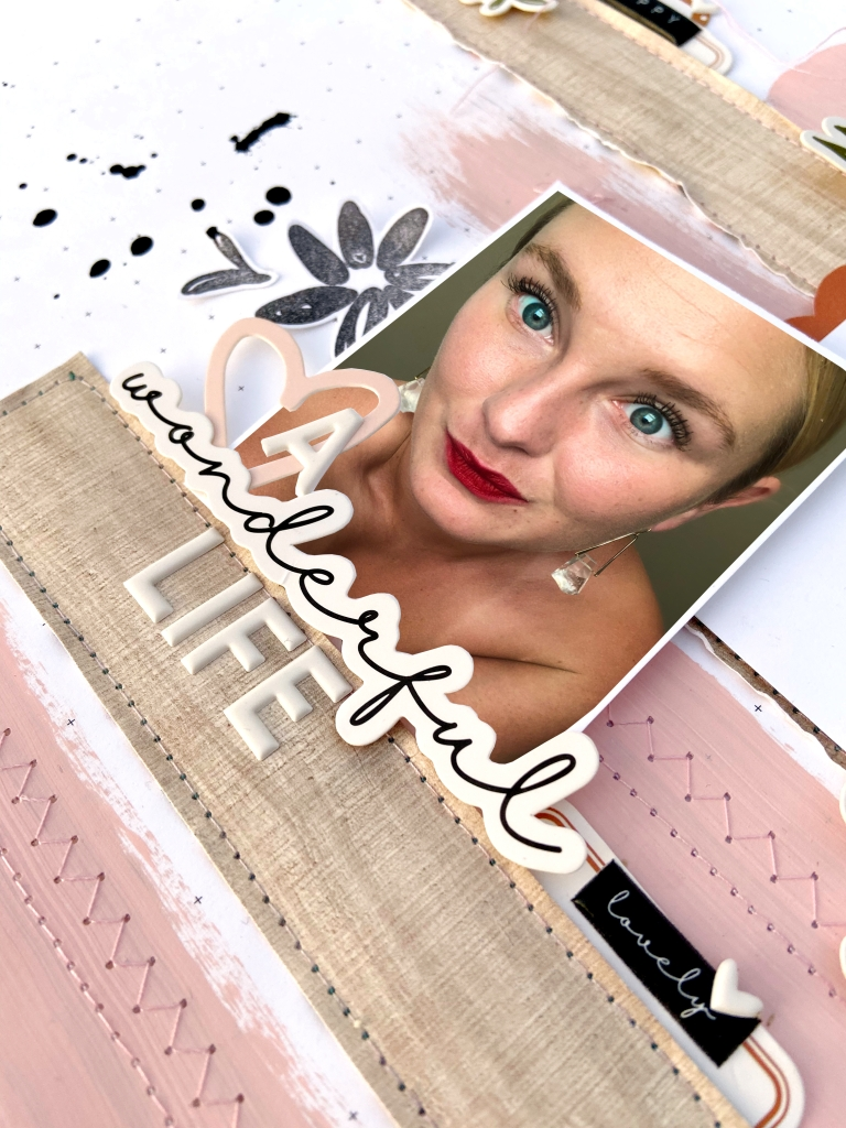 Felicity Jane October 2019 Rebekah Sketch │ Lydia Cost │ 12x12 Scrapbook Layout