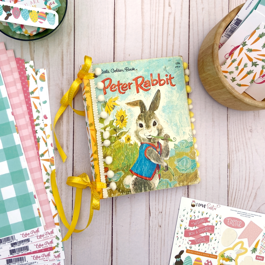 Peter Rabbit Altered Golden Book │ Echo Park │ Lydia Cost