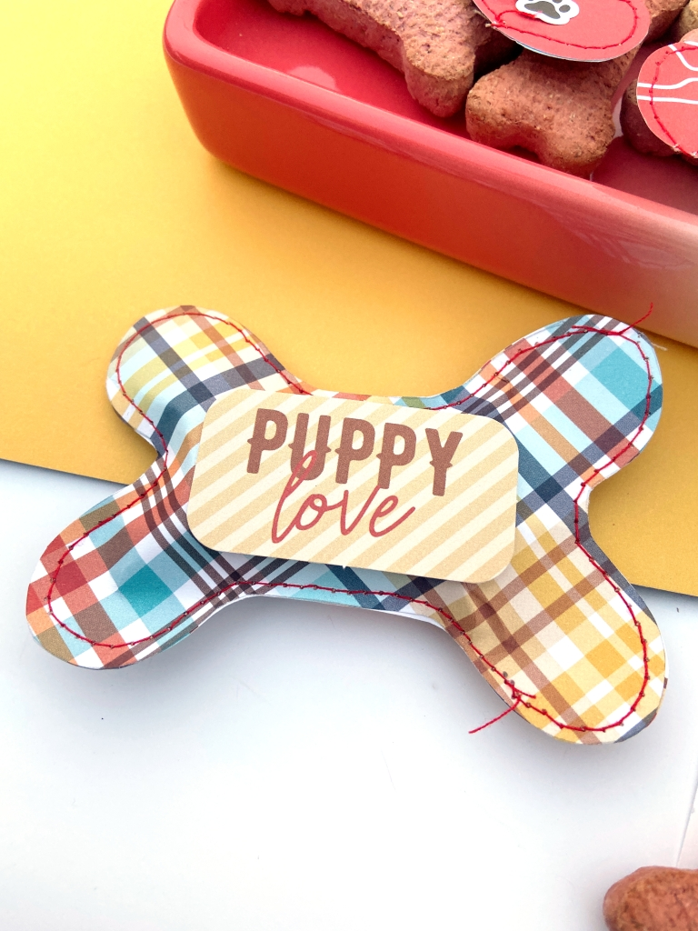 Dog Treat Holders │ Echo Park I Love My Dog │ Lydia Cost
