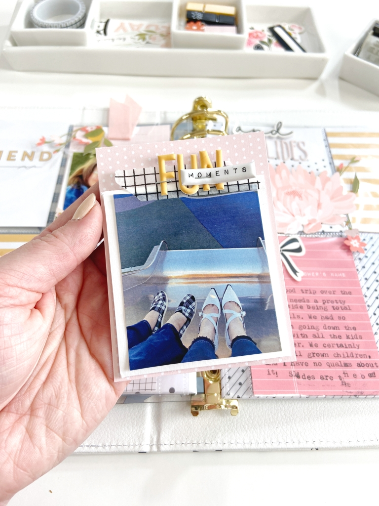Friends & Slides │ Felicity Jane Pocket Page │ Lydia Cost