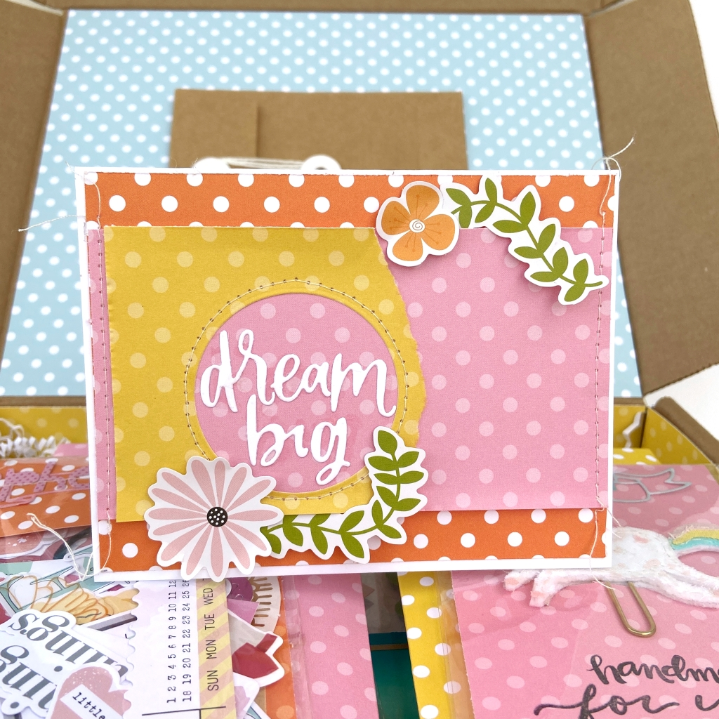 Dots & Stripes Care Package and Card │ Lydia Cost