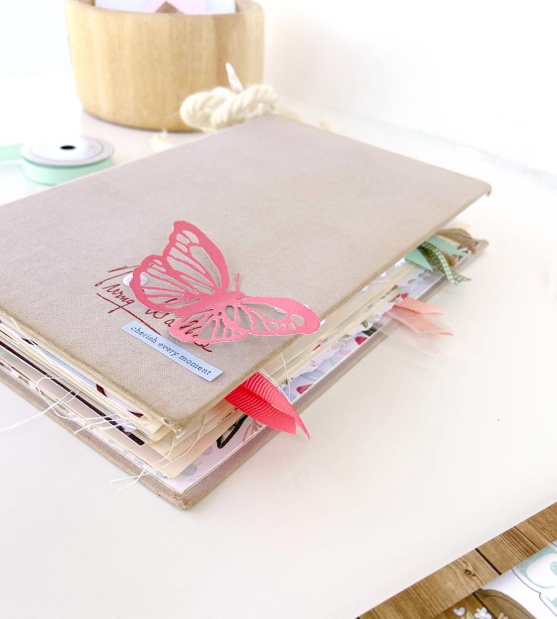 Cherished Memories Altered Book │ Carta Bella Farmhouse Market │ Lydia Cost
