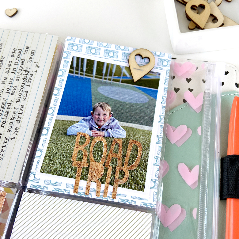 Freckled Fawn March 2020 TN Bundle │ Road Trip Pocket Page Spread │ Lydia Cost