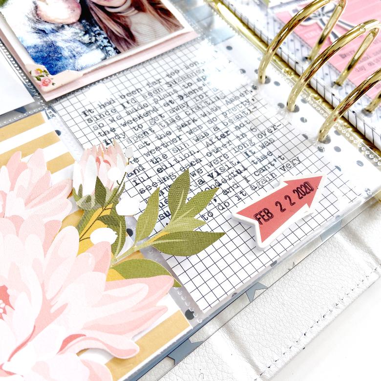 Friends & Slides │ Felicity Jane Pocket Page │ Lydia Cost