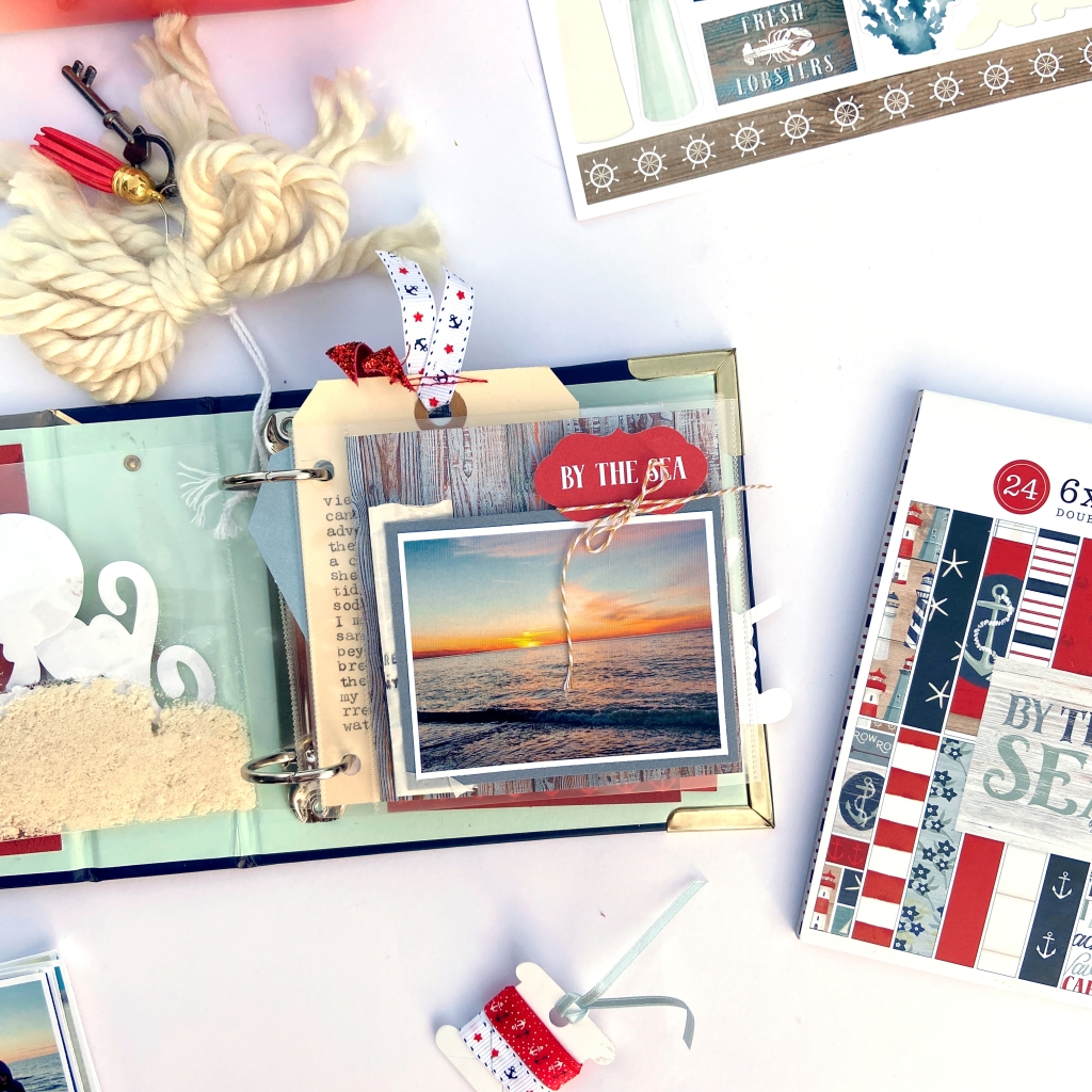 Carta Bella By The Sea 4x4 Album │ Lydia Cost