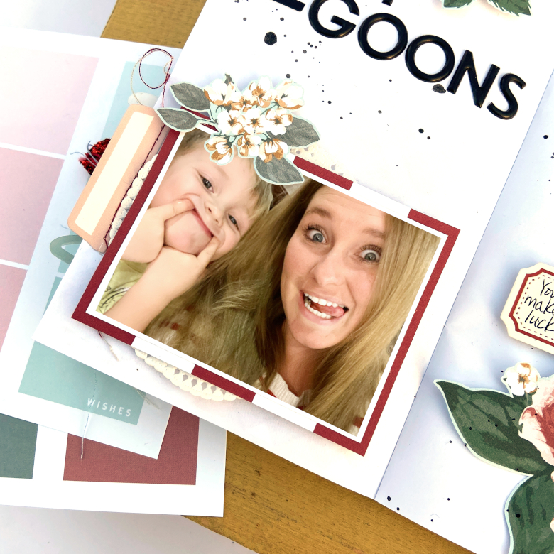 2 Silly Goons Travelers Notebook Spread │ Felicity Jane Coco │ Lydia Cost