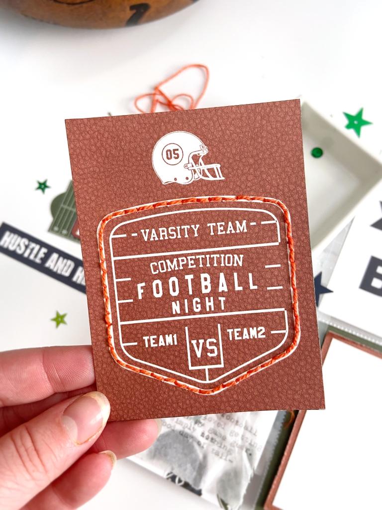 Football Pocket Page │ Echo Park │ Lydia Cost